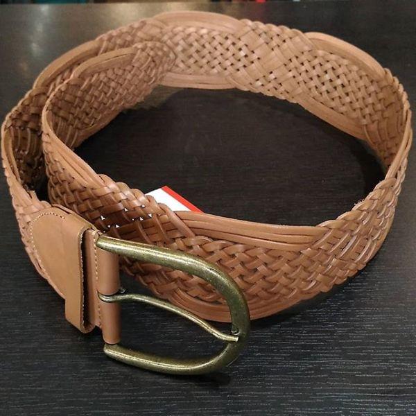 HOLT RENFREW Leather Belt ACCESSORY 14625 ( Size Lg )