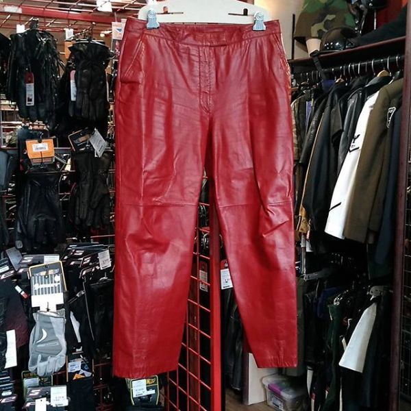 "DANIER Leather Fashion PANTS 15099 ( Size 34"" )"