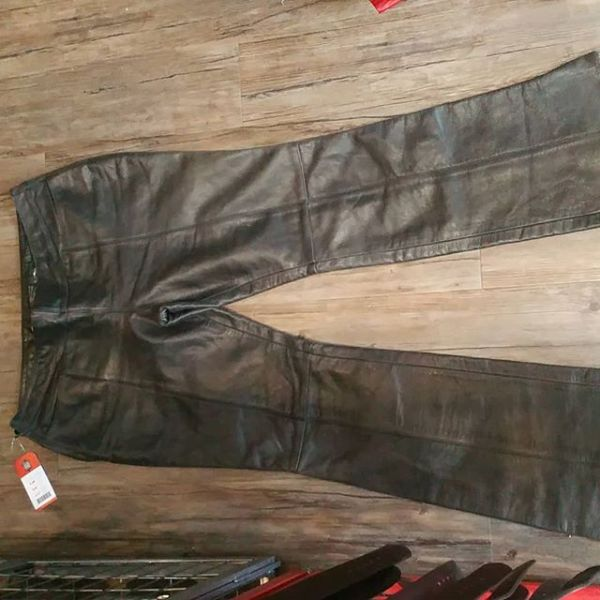 "HARLEY DAViDSON Leather Women's PANTS 17722 ( Size 36"" (14/18) )"