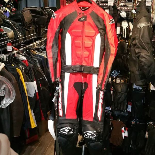 SPYKE Leather Two Piece RACE SUIT 19320 ( Size 38 )