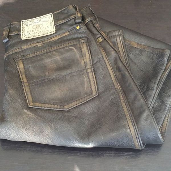 LUCKY BRAND Leather Jean PANTS 19768 ( Size 29in )