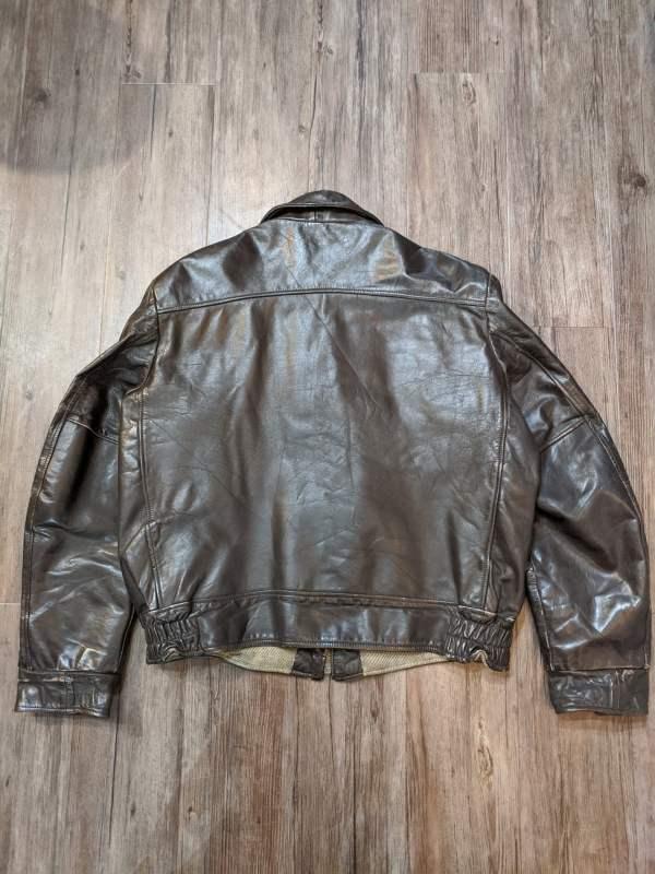 SHIELDS Leather Classic JACKET 21006 ( Size 40 )||||