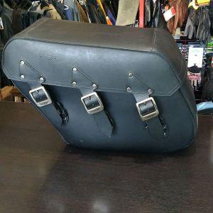 TRIUMPH Leather Side bag BAGGAGE 20758 ( Size Med )