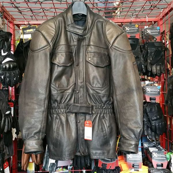 HELD Leather Riding JACKET 21109 ( Size 44 m )