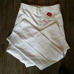 SAILOR Textile White Pants MILITARIA 21463 ( Size 34 Long )