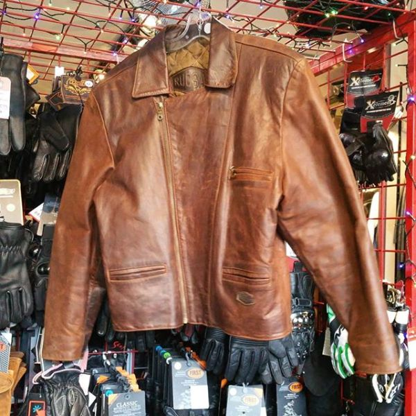 RUDSAK Leather Fashion JACKET 22187 ( Size LRG m 44 )