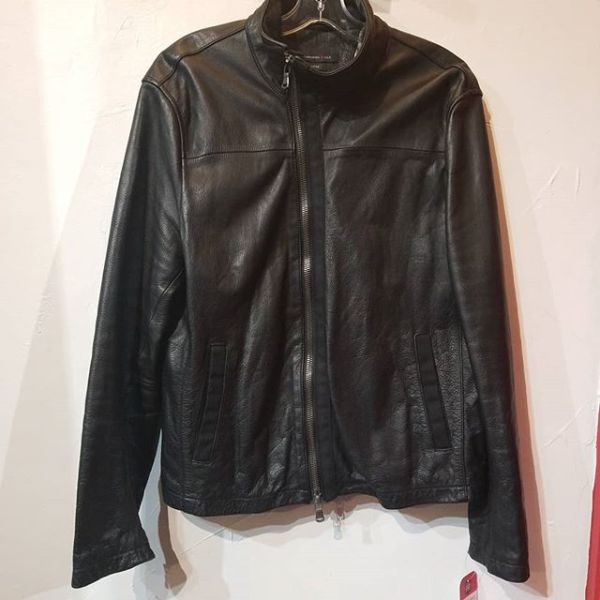 JOHN VARVADOS Leather Luxe JACKET 22280 ( Size 44 )