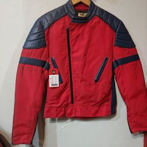 WOLFF Mixed Material Cafe Racer JACKET 23032 ( Size Sm M 40 )