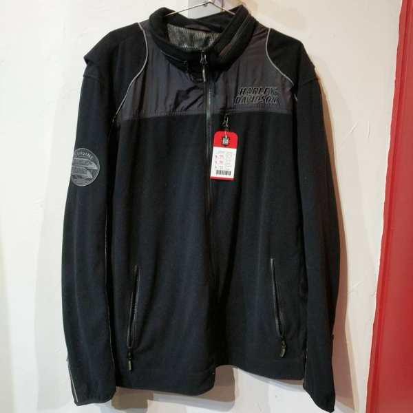 HARLEY DAVIDSON Textile Windproof Fleece JACKET 23543 ( Size XXXL )