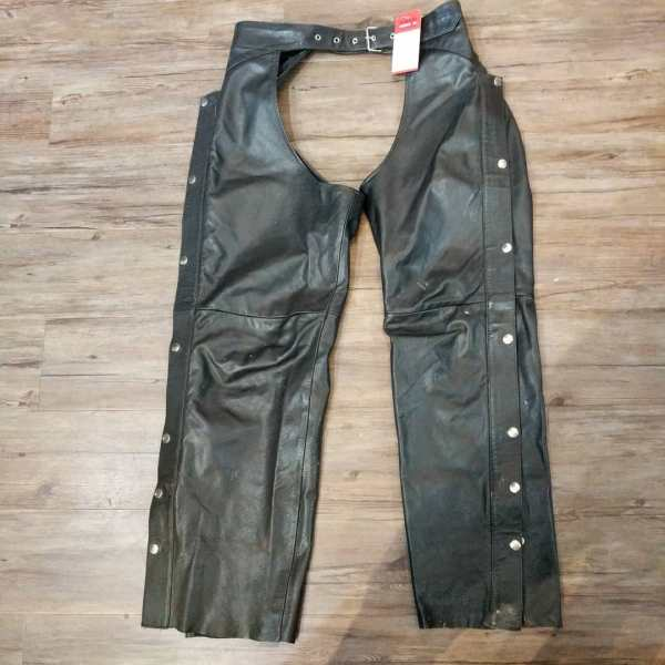 """BOUTIQUE OF LEATHERS Leather riding CHAPS 