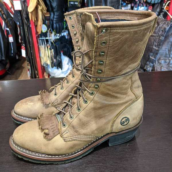 DOUBLE H Leather Packer BOOTS | 23747 | Size: 41