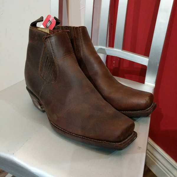 UPPER Leather Chelsea+ BOOTS | 24005