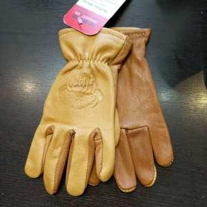 BUFFALO MOTO Leather Wrist Length GLOVES | 24142