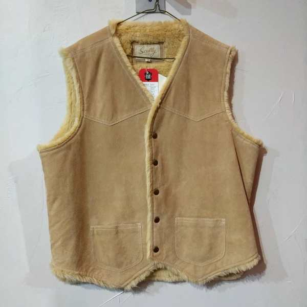 SCULLY Suede Fuzz-lined VEST   24153