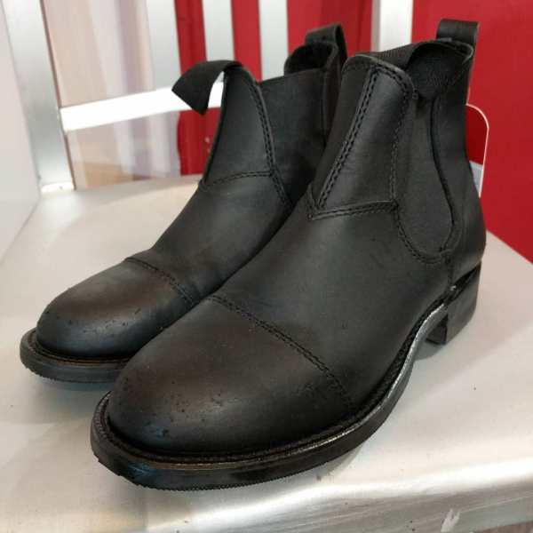 CANADA WEST Leather Chelsea BOOTS | 24288