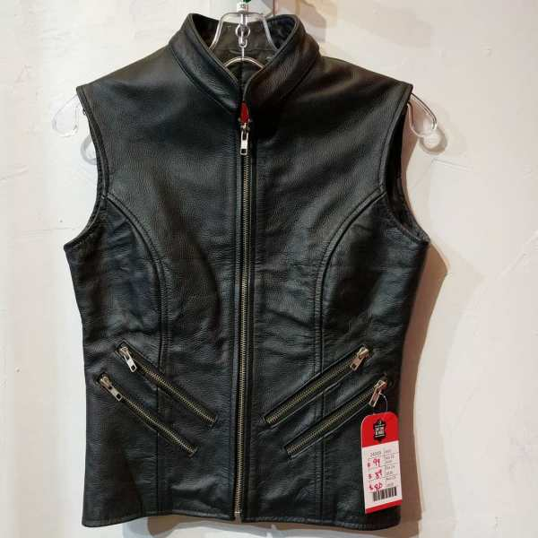 OLLY & ALLY Leather Riding VEST | 24319
