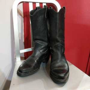 BOULET Leather Western Biker BOOTS | 24407