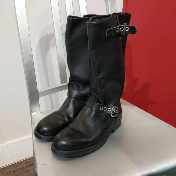 MOTORCYCLES Leather Engineer BOOTS   24431