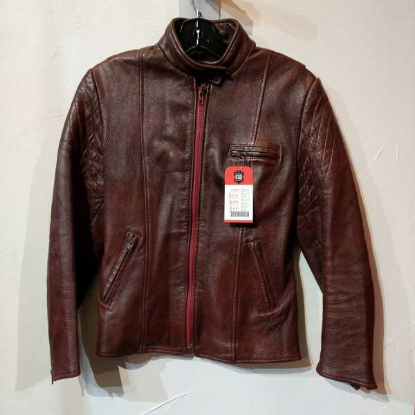 SYMAX Leather Cafe Racer JACKET | 24569