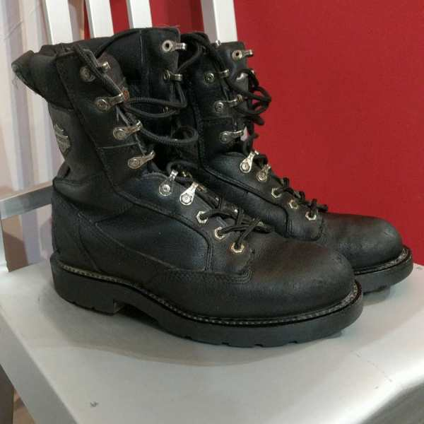 HARLEY DAVIDSON Leather Lace-up BOOTS | 24617