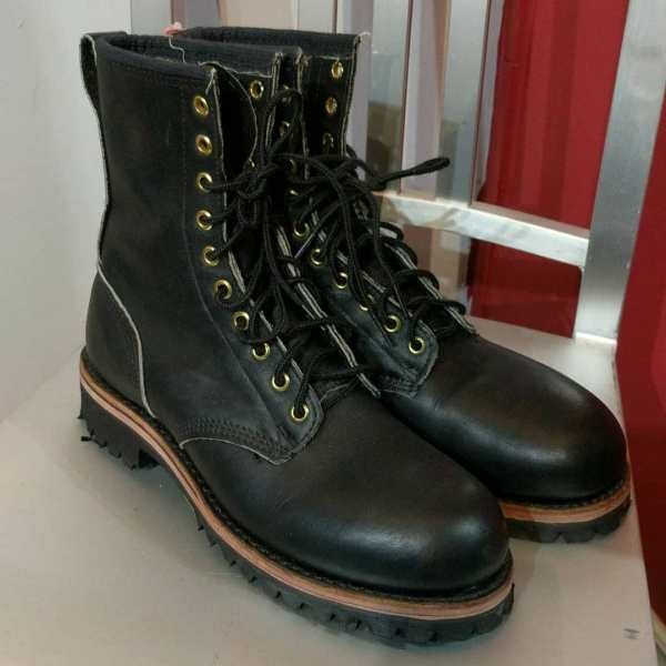 Unbranded Leather Logger / Work BOOTS | 24663