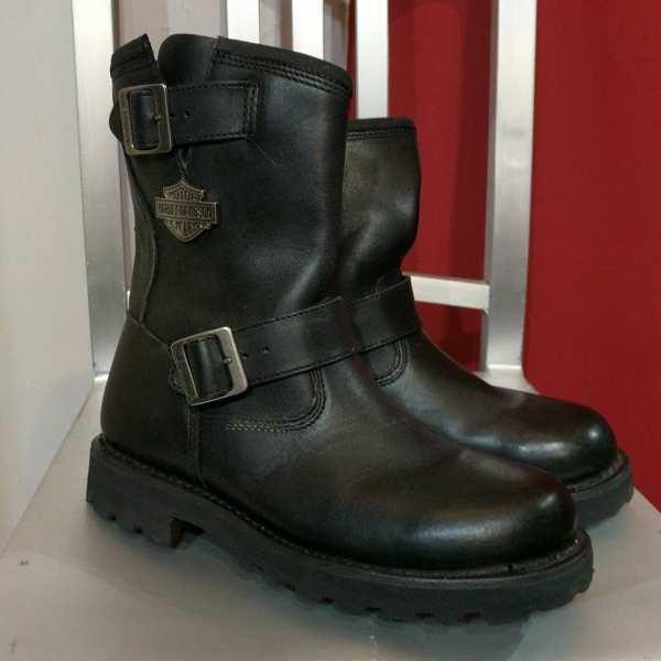 HARLEY DAVIDSON Leather Engineer BOOTS | 24666