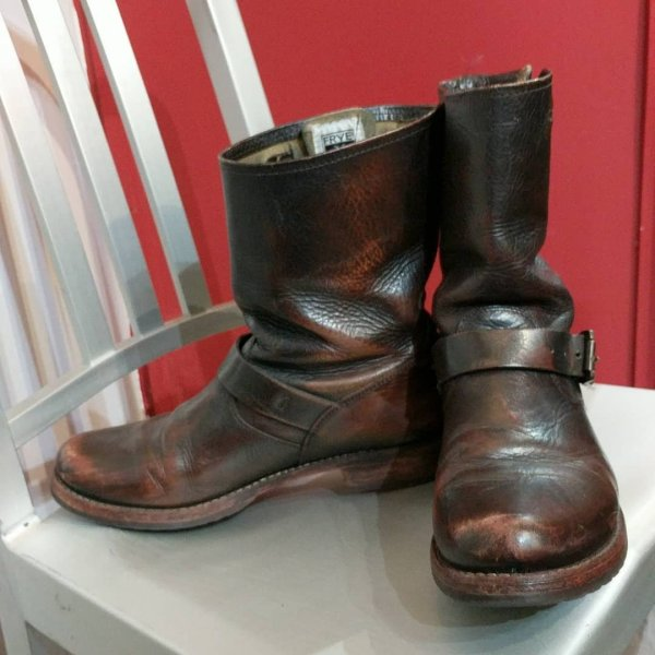 FRYE Leather Engineer BOOTS | 24714