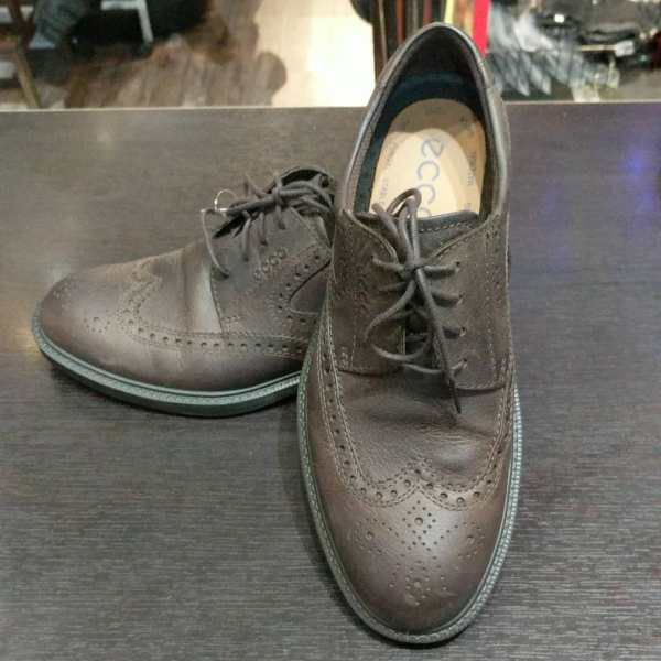 ECCO Leather Oxford SHOES | 24727