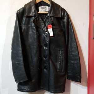 SCHOTT Leather Naval Pea Coat JACKET | 24829