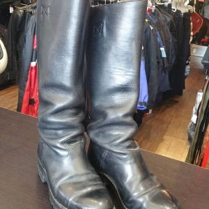 VPD MOTORCYCLE POLICE Leather patrol high BOOTS 9180