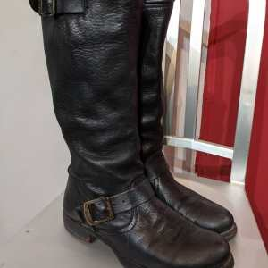 FRYE Leather Veronica Slouch BOOTS   24969
