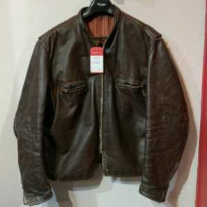 BROOKS Leather Café racer JACKET   24970