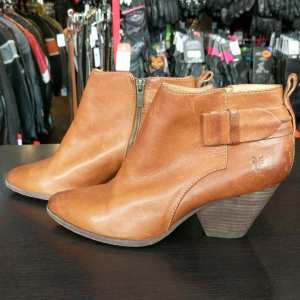 Frye Leather Bootie BOOTS | 25200