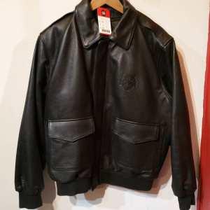 BURK's BAY Leather Bomber JACKET   25344
