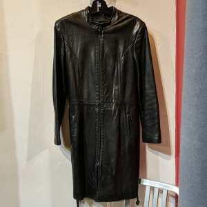 DANIER Leather Trench COAT | 25762