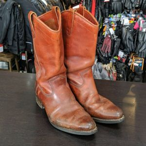 DAYTON Leather Brown Beauty BOOTS | 25767