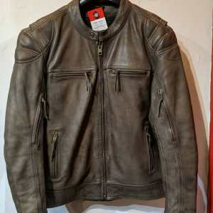 FIRST MFG Leather Top Performer JACKET | 25747