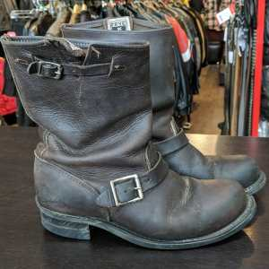 FRYE Leather Engineer BOOTS | 25760
