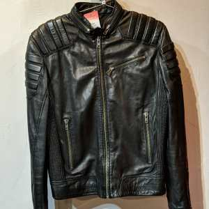 H&M Leather CafeRacer plus JACKET | 25749