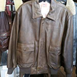 PEARL HARBOUR Leather Bomber JACKET   25346