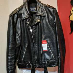 SYMAX Leather Biker Classic JACKET | 25621