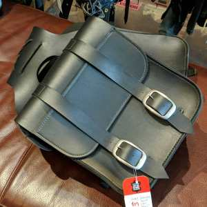 UNBRANDED Vegan Leather Saddlebags BAGGAGE | 25367