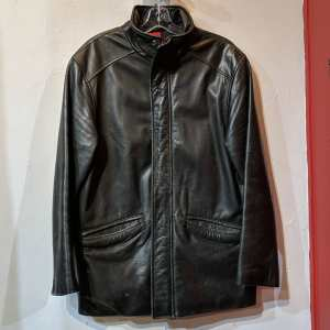 Unbranded Leather CAR COAT | 25666