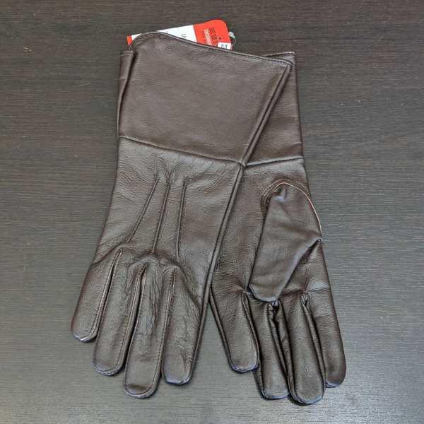 Unbranded Leather GAUNTLET GLOVES | 25624