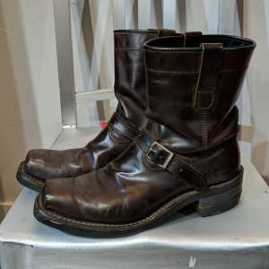DAYTON Leather Confederate BOOTS | 25947