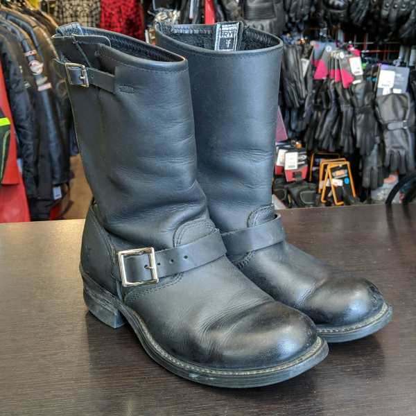 FRYE Leather ENGINEER 8R BOOTS | 25821