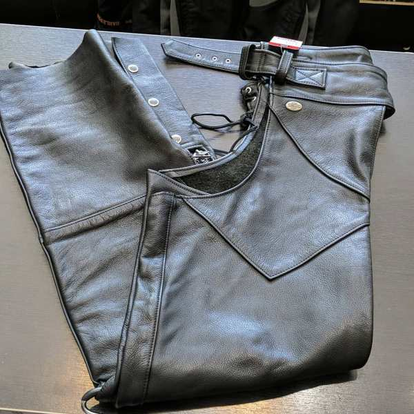 HARLEY DAVIDSON Leather Classic CHAPS   25822