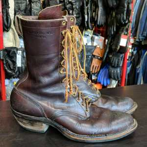 HATHORN Leather Packer BOOTS | 26074