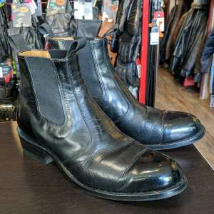 RCMP Leather Chelsea BOOTS   26049