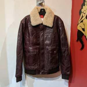 THREADS of APOLLO Bomber Leather JACKET | 26136